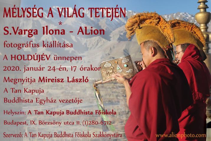 Új nagykiállításom A Tan Kapuja Buddhista Főiskolán